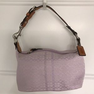 Lilac Coach mini bag